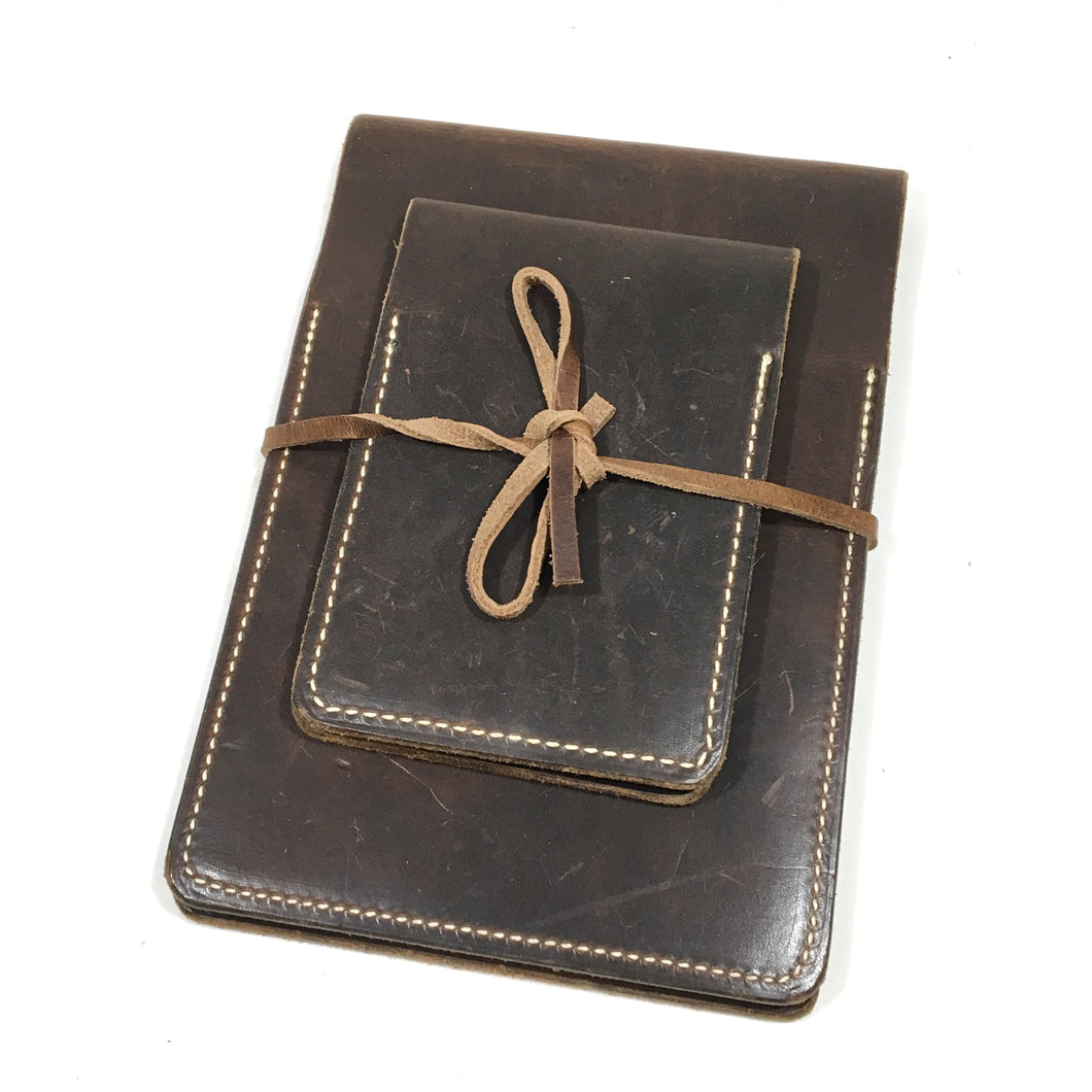 Nut Brown Notepad Set
