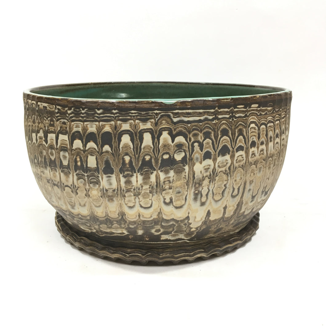 Ceramic Marbeled Bowl