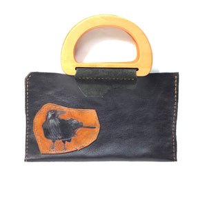 Art Bag, Leopard Leather