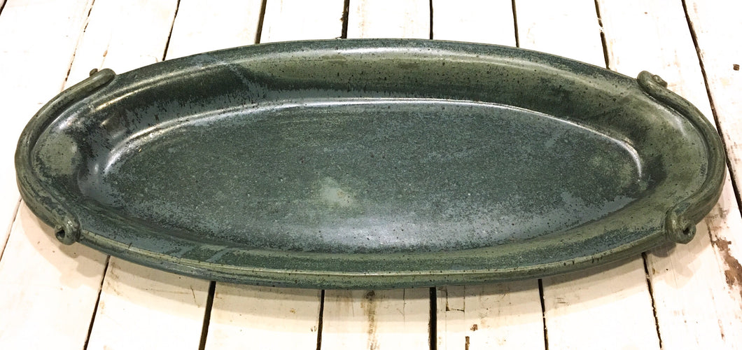 Ceramic Platter - dark blue