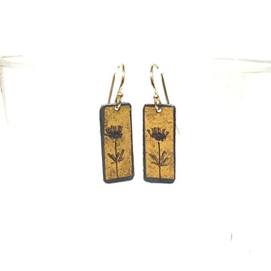 Kumboo Earrings - Thistle