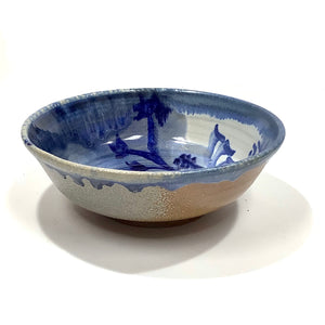 Bowl - White and Blue