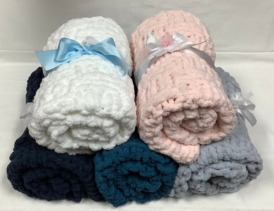 Cozy Baby or Toddler Blanket