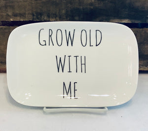 Grow Old with Me Trinket Tray