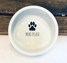 Dog Food Bowl