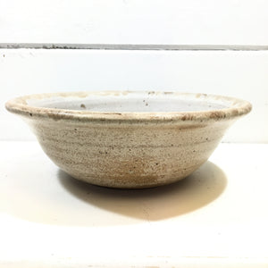 Ceramic Bowl - tan