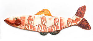Ceramic Fish - Audrey Hepburn