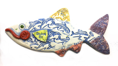 Ceramic Fish - Dream Big