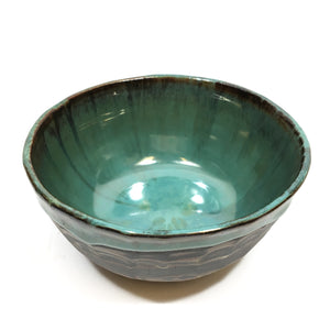 Ceramic Marbeled Bowl - small