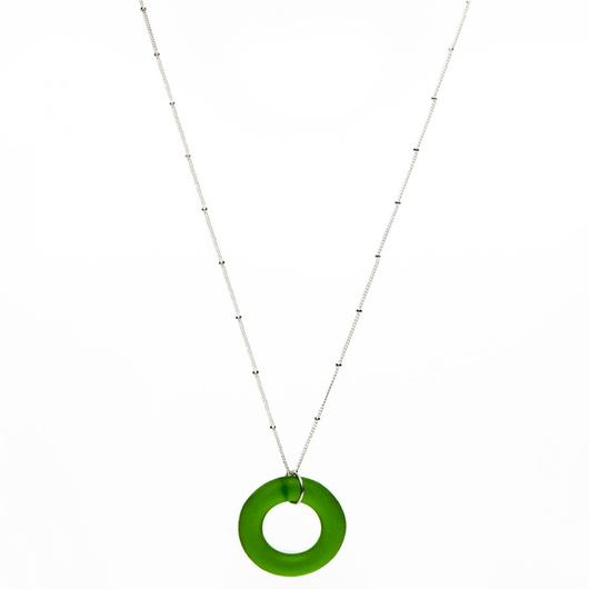 Seaglass Style Simple Necklace
