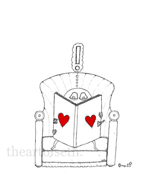 Creatures of the Heart print - The Book