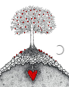 Creatures of the Heart print - The Great Tree