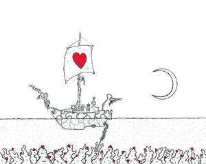 Creatures of the Heart print - The Ship
