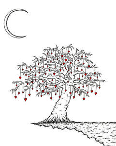Creatures of the Heart print - The Tree at the Edge of The World.