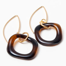 Wave Boomerang Gold Earring