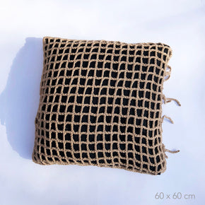 LOOP crochet cushion