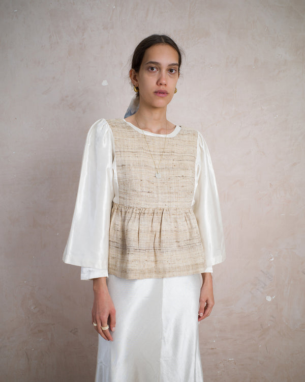 Kelci blouse patchwork CEREMONY