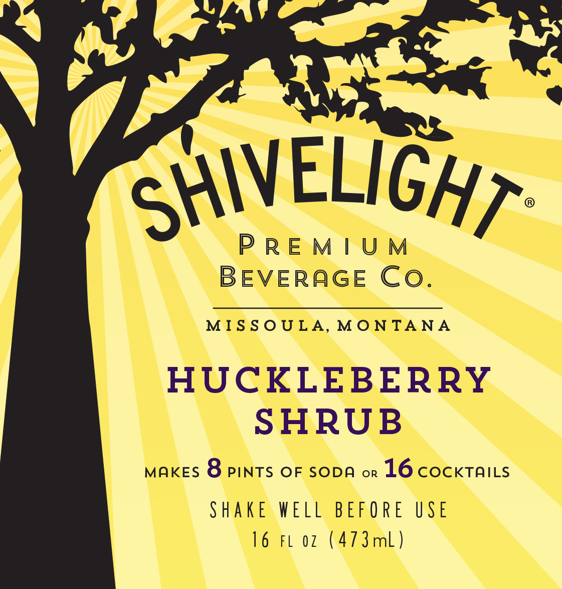 Huckleberry Shrub