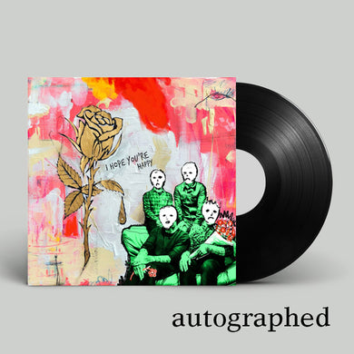 New Album on Vinyl - Autographed
