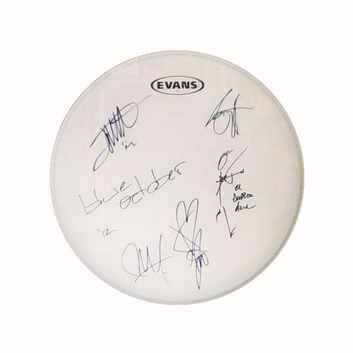 Autographed Drum Skin