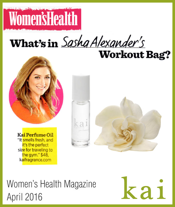 kai fragrance featured in women's health april 2016