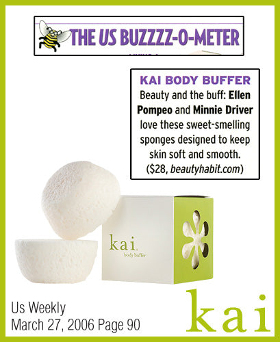 kai fragrance featured in us weekly march 2006