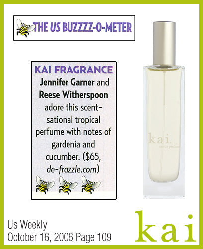 kai fragrance featured in us weekly october 2006