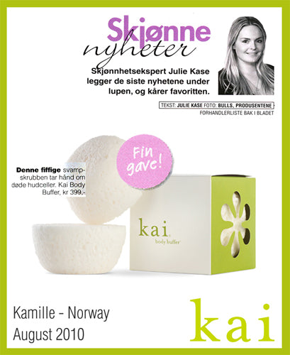 kai fragrance featured in kamille - norway august, 2010