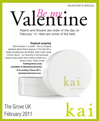 kai featured in the grove uk february, 2011