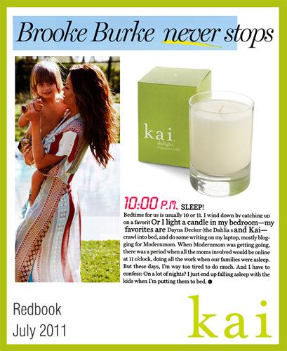 kai featured in redbook july, 2011