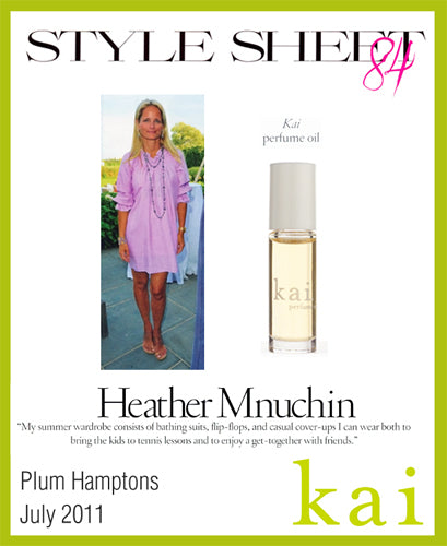 kai featured in plum hamptons july, 2011