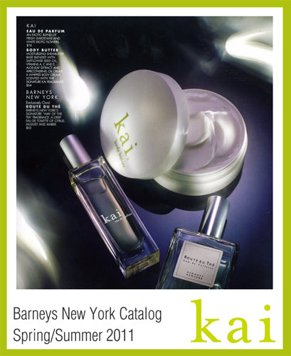 kai featured in barneys new york catalog spring/summer, 2011