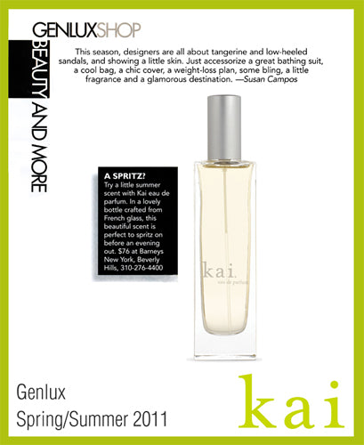 kai featured in genlux spring/summer, 2011