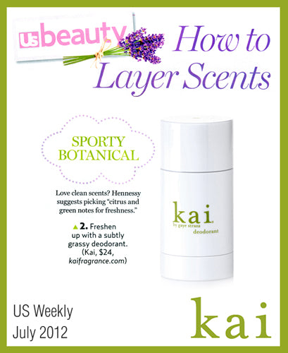 kai featured in us weekly july, 2012
