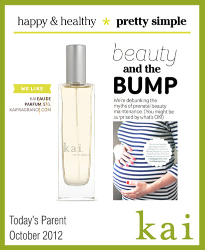 kai featured in today's parent october, 2012
