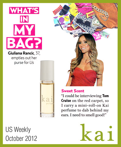 kai featured in us weekly october, 2012