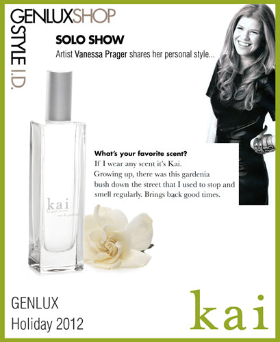 kai fragrance featured in genlux holiday 2012