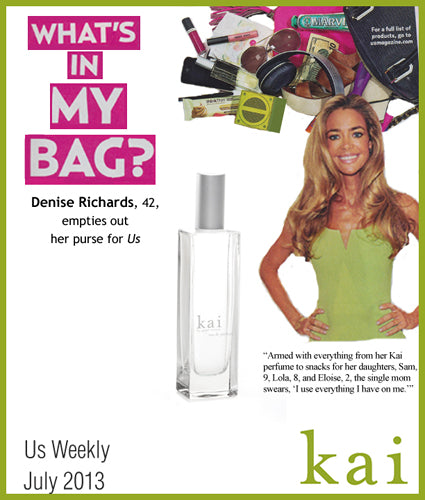 kai featured in us weekly july, 2013