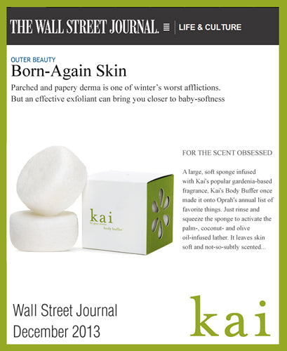 kai featured in wall street journal december, 2013