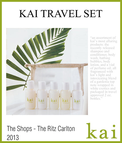 kai featured in the shops the ritz carlton 2013