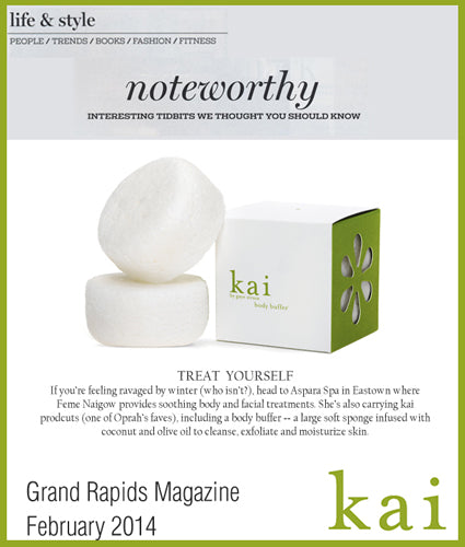 kai fragrance featured in grand rapids magazine february 2014