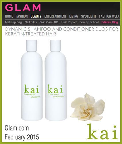 kai fragrance featured in glam.com february 2015