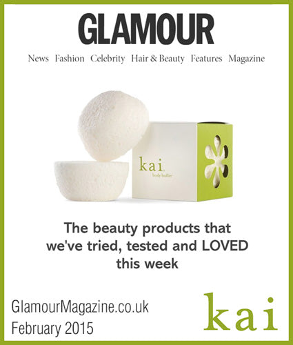 kai fragrance featured in glamourmagazine.co.uk february 2015