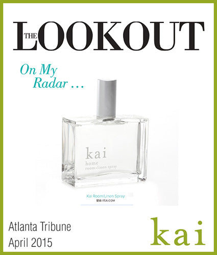 kai fragrance featured in atlanta tribune april 2015
