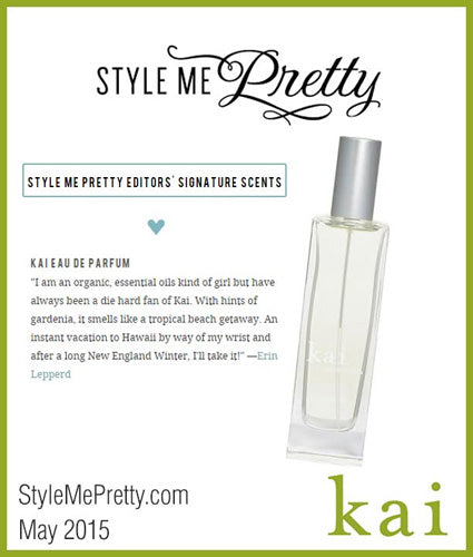 kai fragrance featured in stylemepretty.com may 2015
