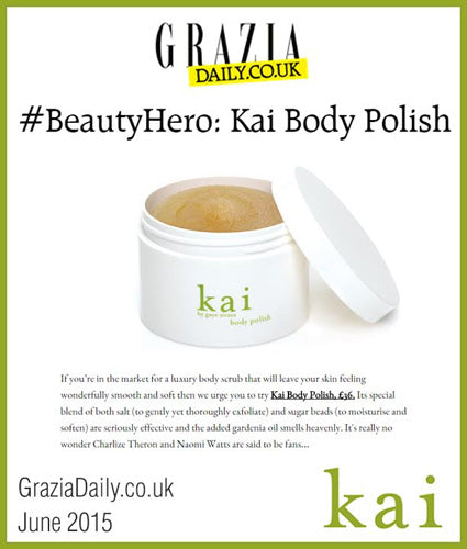 kai fragrance featured in graziadaily.co.uk june 2015