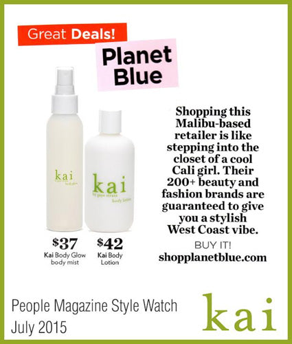 kai fragrance featured in people style watch july 2015