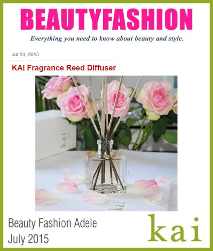 kai fragrance featured in beauty fashion adele july 2015