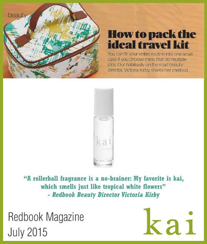 kai fragrance featured in redbook magazine july 2015