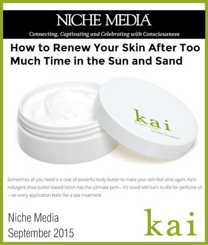 kai fragrance featured in niche media september 2015